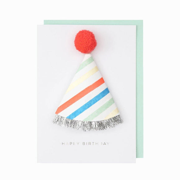 Grußkarte - Birthday Hat Card