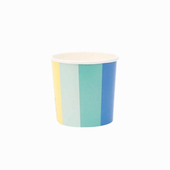 Pappbecher - Party Cups Color Wheel