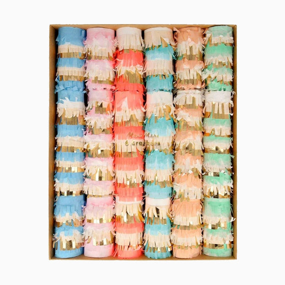 Knallbonbons - Pastel Fringe Medium Crackers