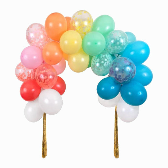 Balloon - Rainbow Balloon Arch Kit