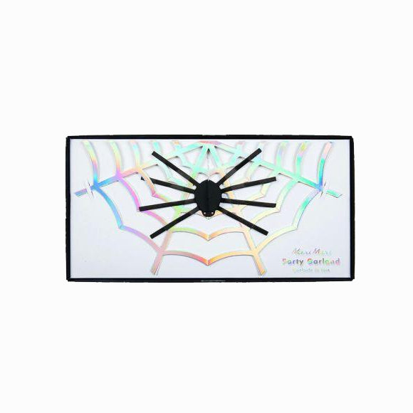 Girlande - Happy Halloween Spider Garland