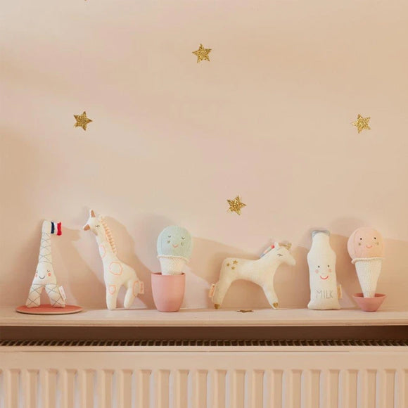 Babyrassel - Unicorn Baby Rattle