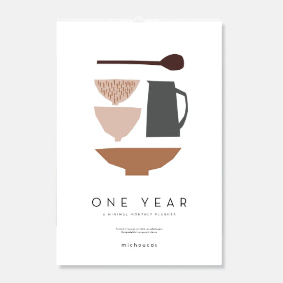 Wandkalender - One Year Calendar