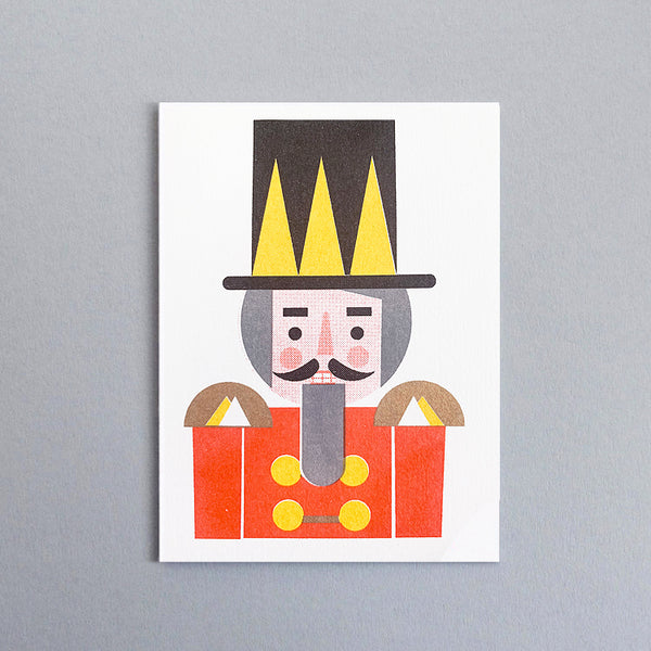 Mini-Klappkarte - Nutcracker Mini Card