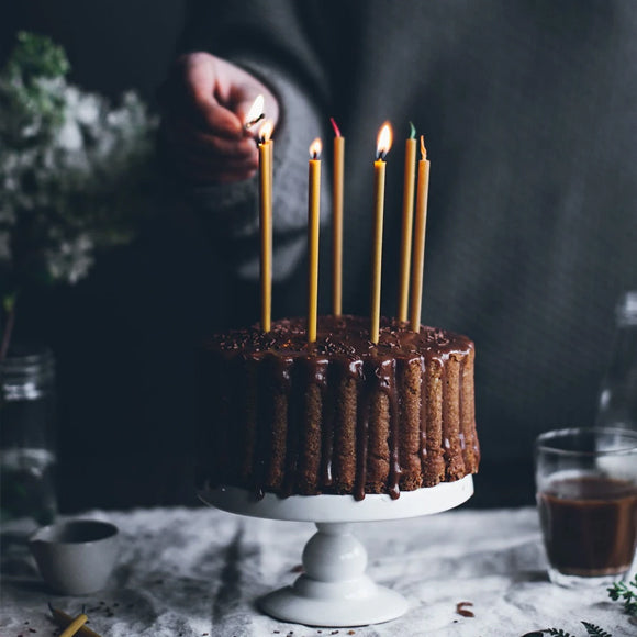 Bienenwachskerzen - Birthday Candles 20