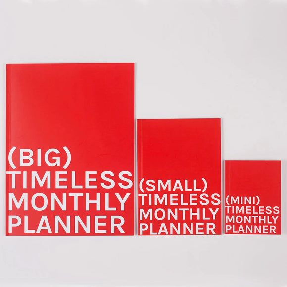 Kalender - Timeless Big Monthly Planner