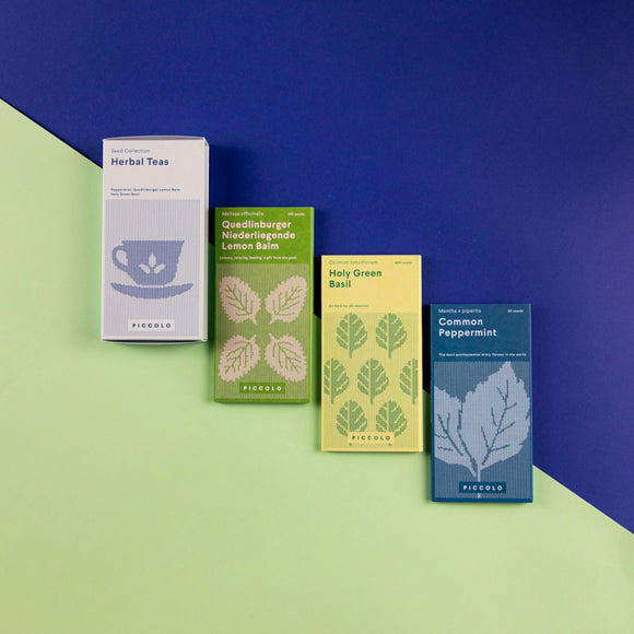 Saatgut-Set Kräuter Tee - Herbal Teas Seed Collection
