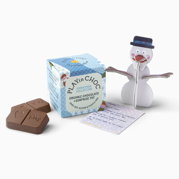 Schokolade mit Pappfigur - ToyChoc Box Christmas Collection