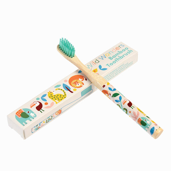 Bambus-Zahnbürste - Wild Wonders Tooth Brush