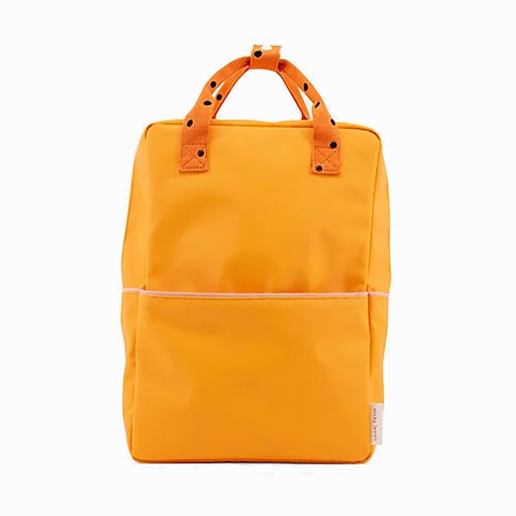 Rucksack - Freckles sunny yellow - large