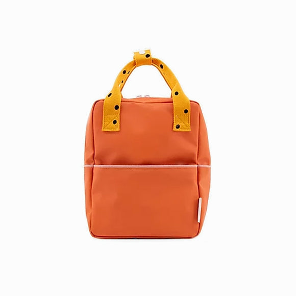 Rucksack - Freckles carrot orange - small