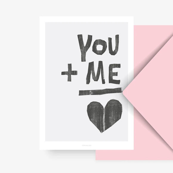 Postkarte - You and Me No. 2