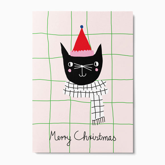 Postkarte - Christmas Cat