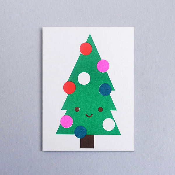 Mini-Klappkarte - Xmas Tree Mini Card