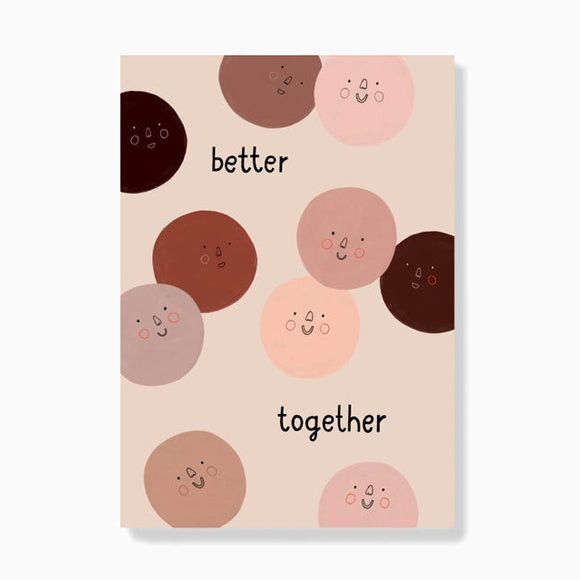 Postkarte - Better Together