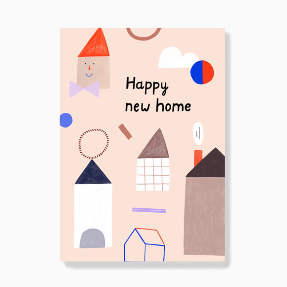 Postkarte - New Home