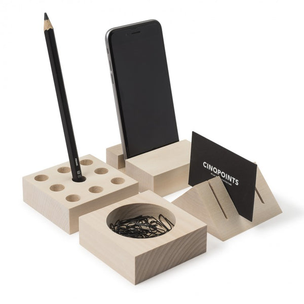 Utensilo - Desk Organiser Wood House