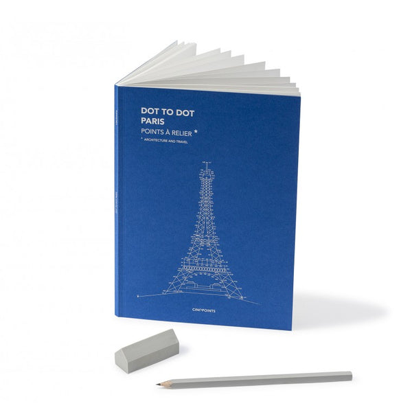 Malbuch - Dot to Dot Paris