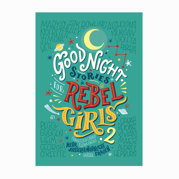 Kinderbuch - Good Night Stories for Rebel Girls 2