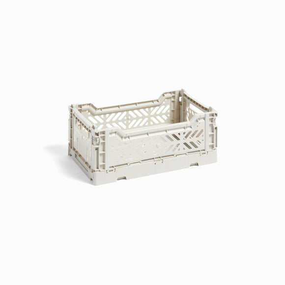 Klappbox - Colour Crate S light grey