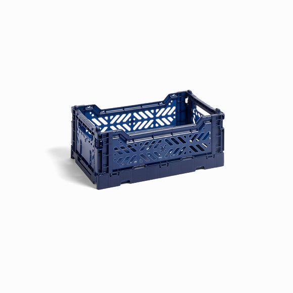 Klappbox - Colour Crate S navy