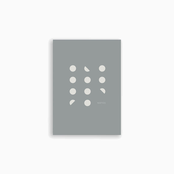 Notizbuch - Pocket Notebook grey