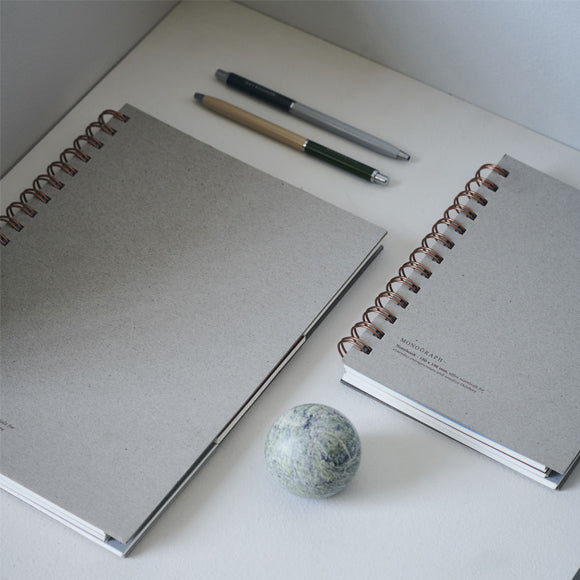 Notizbuch - Notebook Tome grey