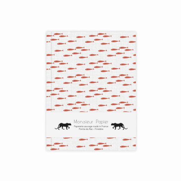 Notizbuch - Carnet S Poissons rouge