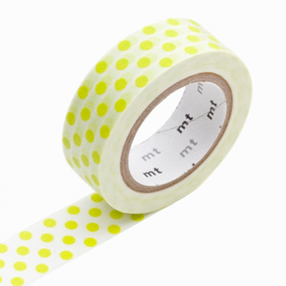 Masking Tape - mt dot lime