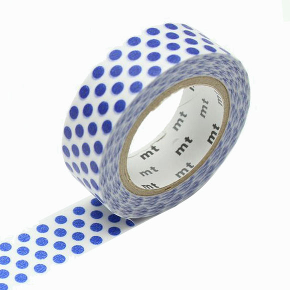 Masking Tape - mt dot night blue
