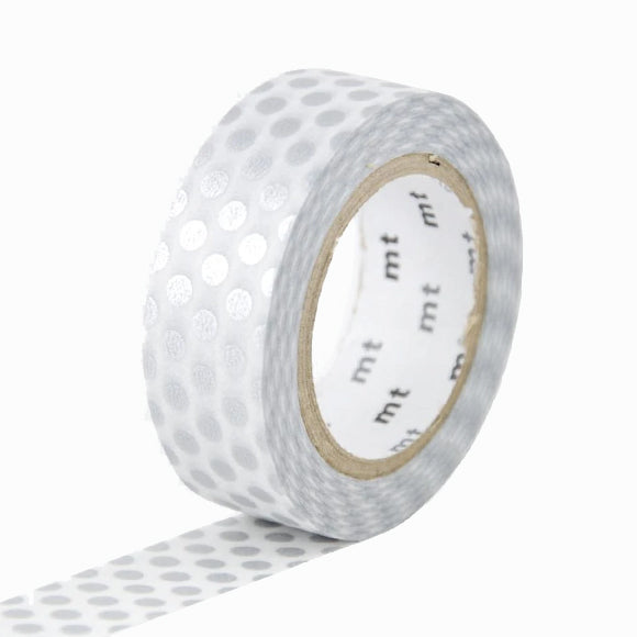 Masking Tape - mt dot silver