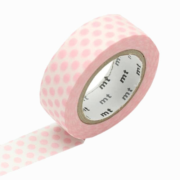 Masking Tape - mt dot strawberry milk