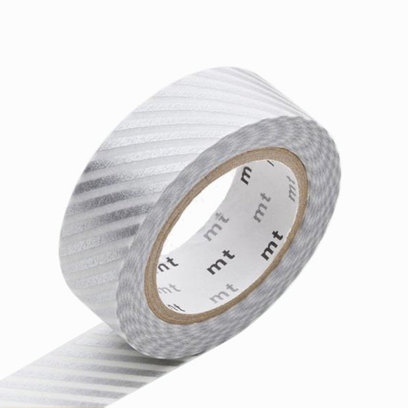 Masking Tape - mt stripe silver