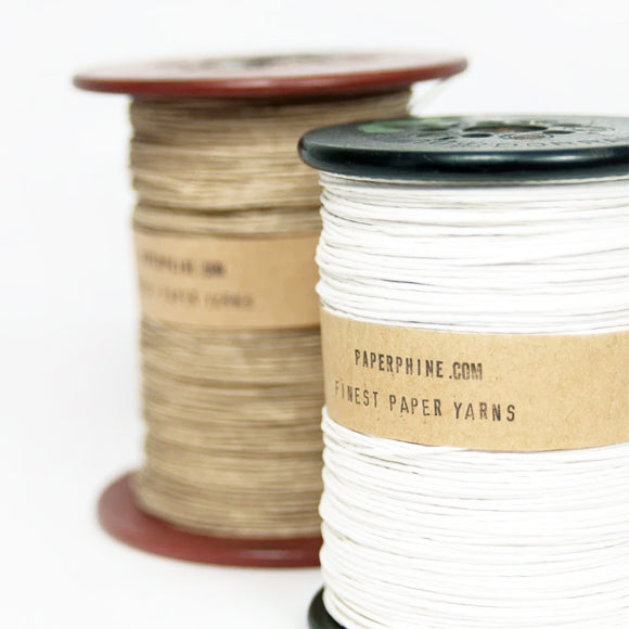 Papiergarn - Strong Paper Yarn on Old Bobbin 220 m