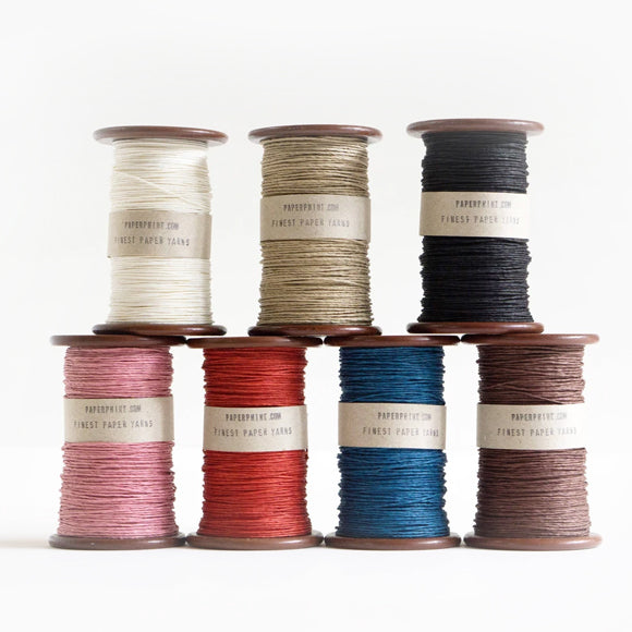 Papiergarn - Strong Paper Yarn on Old Bobbin 180 m