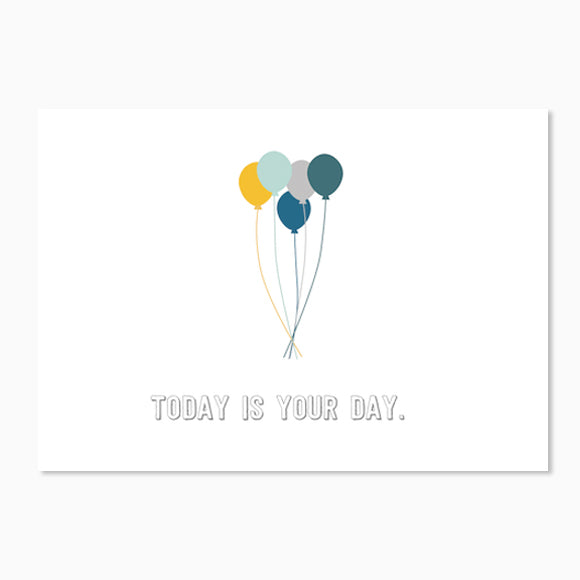 Postkarte - Today is your day