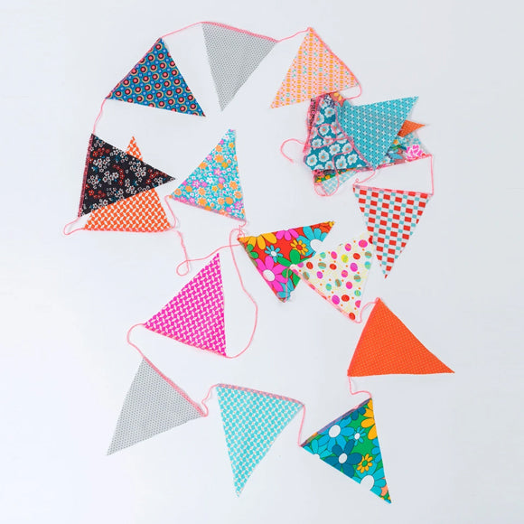 Wimpelkette - Bunting large triangle