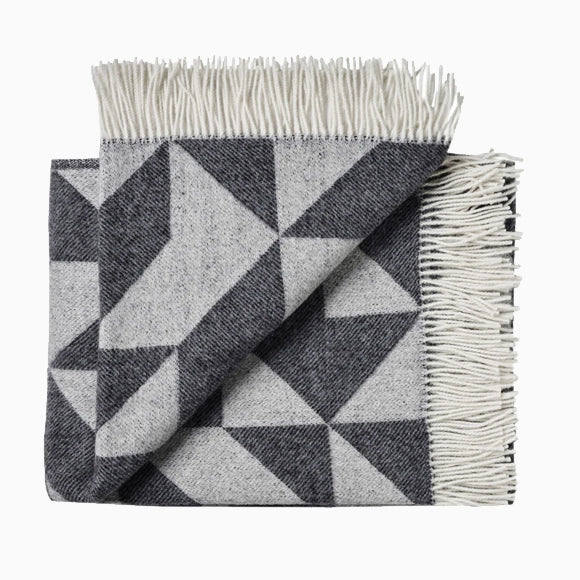 Wolldecke - Twist A Twill dark grey