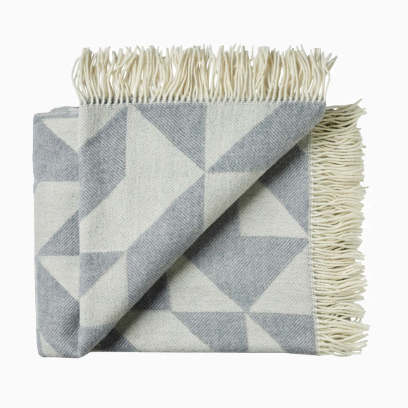 Wolldecke - Twist A Twill light grey