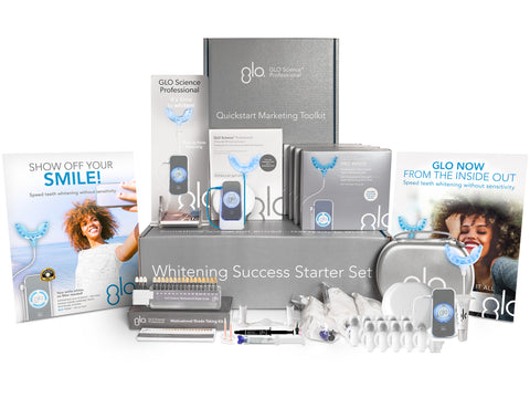 GLO Science Professional Whitening Success Starter Set