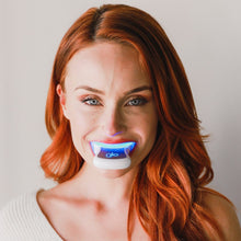 Load image into Gallery viewer, GLO Pro White Platinum Wireless Teeth Whitening Device Kit 10% HP - single