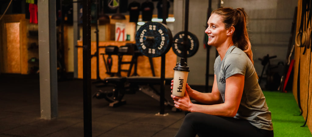Huel-Women-Weight-Training-Gym