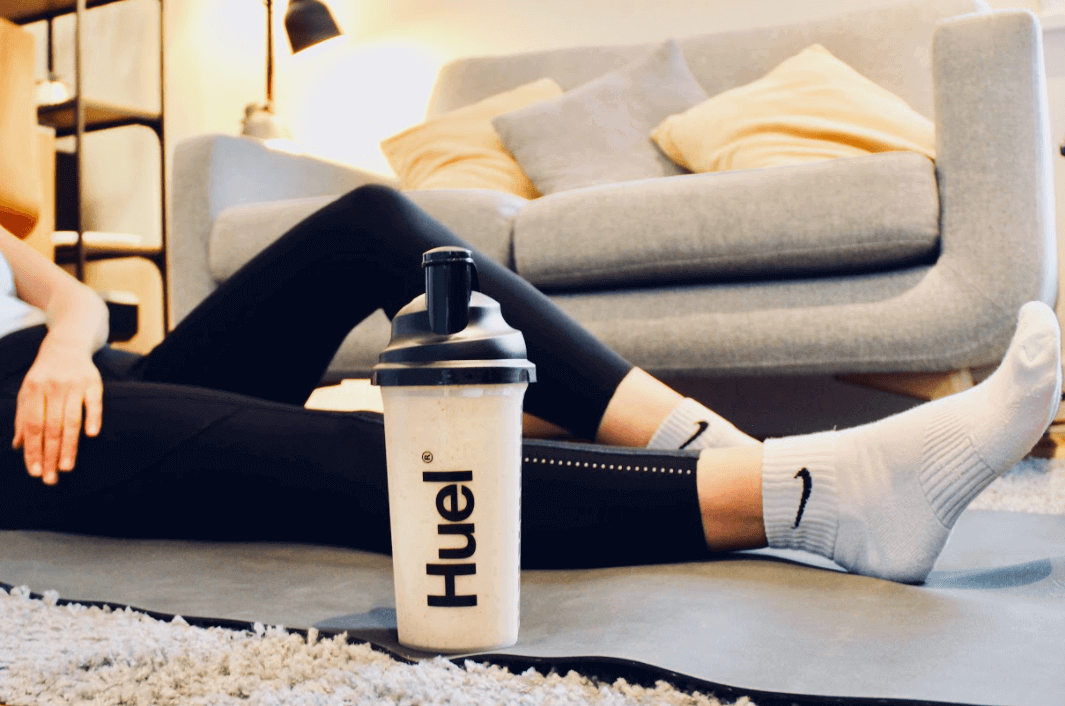 what is stress - drinking huel at home