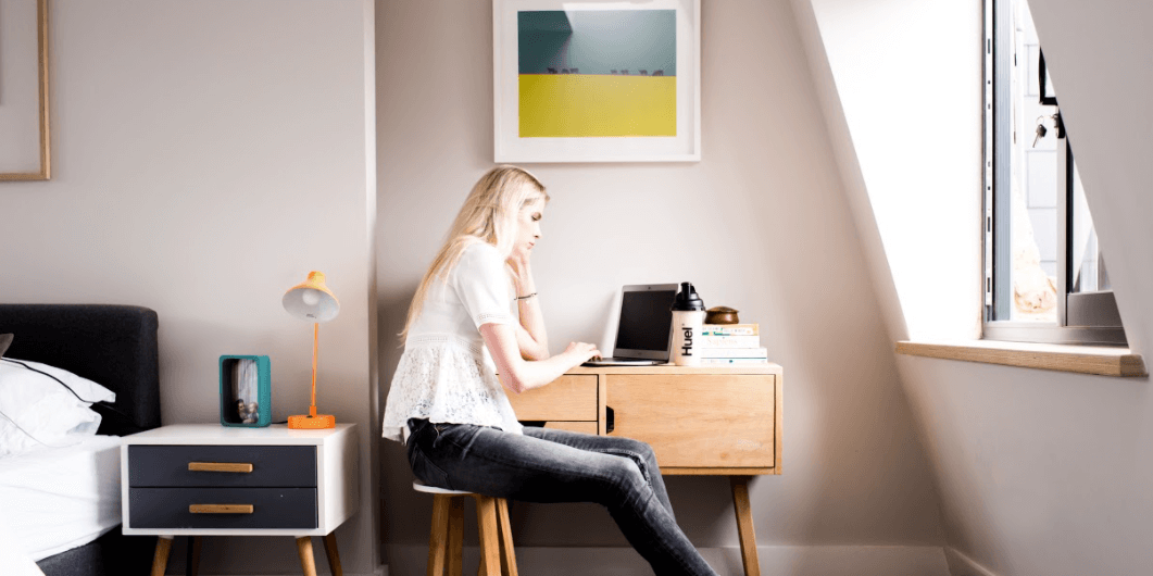 what is stress - drinking huel when working from home