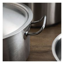 Charger l'image dans la galerie, Casserole with Lid Quid Professional Koncept Stainless steel 18/10