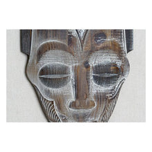 Charger l'image dans la galerie, Wall Decoration DKD Home Decor Wood With fabric Colonial Mask