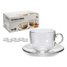 Charger l'image dans la galerie, Set of 6 Cups with Plate 450 ml