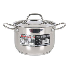 Charger l'image dans la galerie, Stainless Steel Saucepan with Lid Quttin