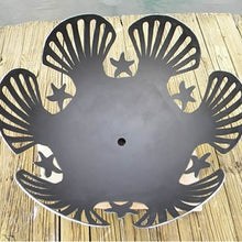 Load image into Gallery viewer, Fire Pit Art Barefoot Beach Handcrafted Carbon Steel Fire Pit (BB), Fireplace - Yardify.com