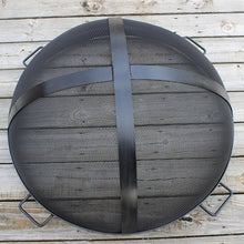Load image into Gallery viewer, Fire Pit Art 34.5-Inch Outdoor Fire Pit Screen for Fireplace and Patio - SG-34.5, Fireplace - Yardify.com